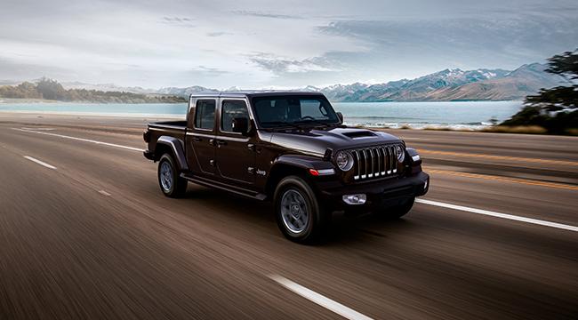 Gladiator, el nuevo pick-up de Jeep